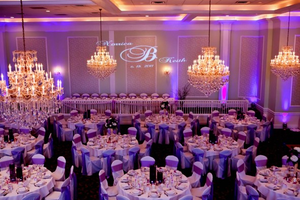 Lucien's Uplighting and Monogram