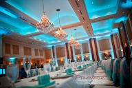 Tiffany Blue at the Pallazzo ballroom