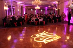 mansion uplight and gobo