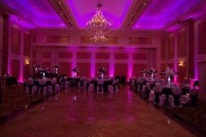pink uplight