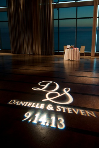 custom Dance floor gobo