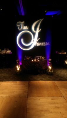 Custom gobo and lighting